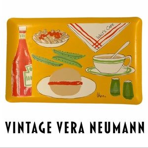 VTG Vera Neumann Walt's Cafe Kitsch Serving Tray